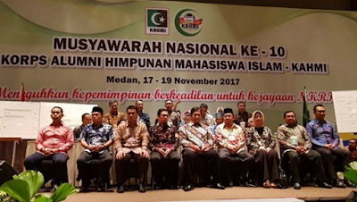 Ini Presidium Majelis Nasional KAHMI Periode 2017-2022 Hasil Munas KAHMI ke 10