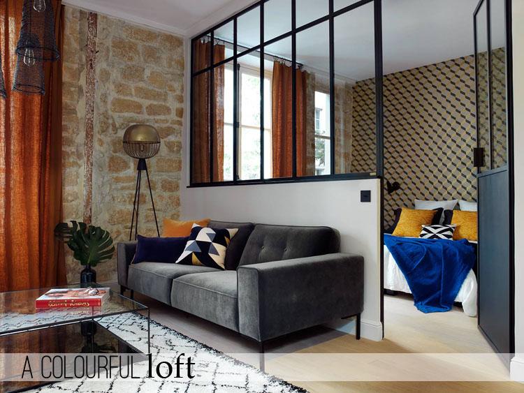 Arredare piccoli spazi a colourful loft home shabby for Arredare piccoli ingressi