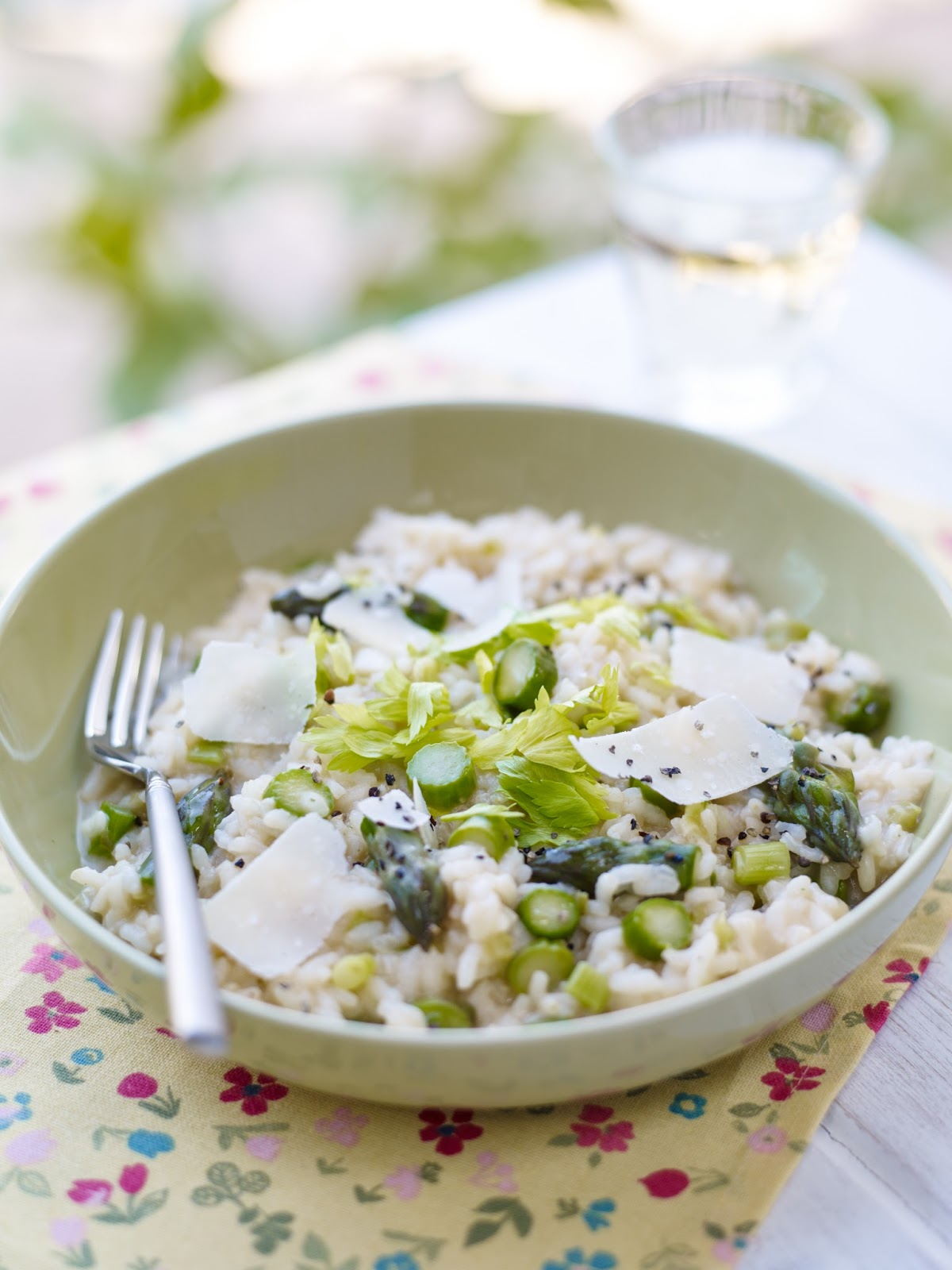 Recipe: Spring Onion and Asparagus Risotto #vegetarian