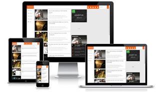 Gooplus шаблон для Blogspot 2018