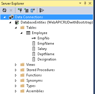 CRUD operations using angular js and MVC 5