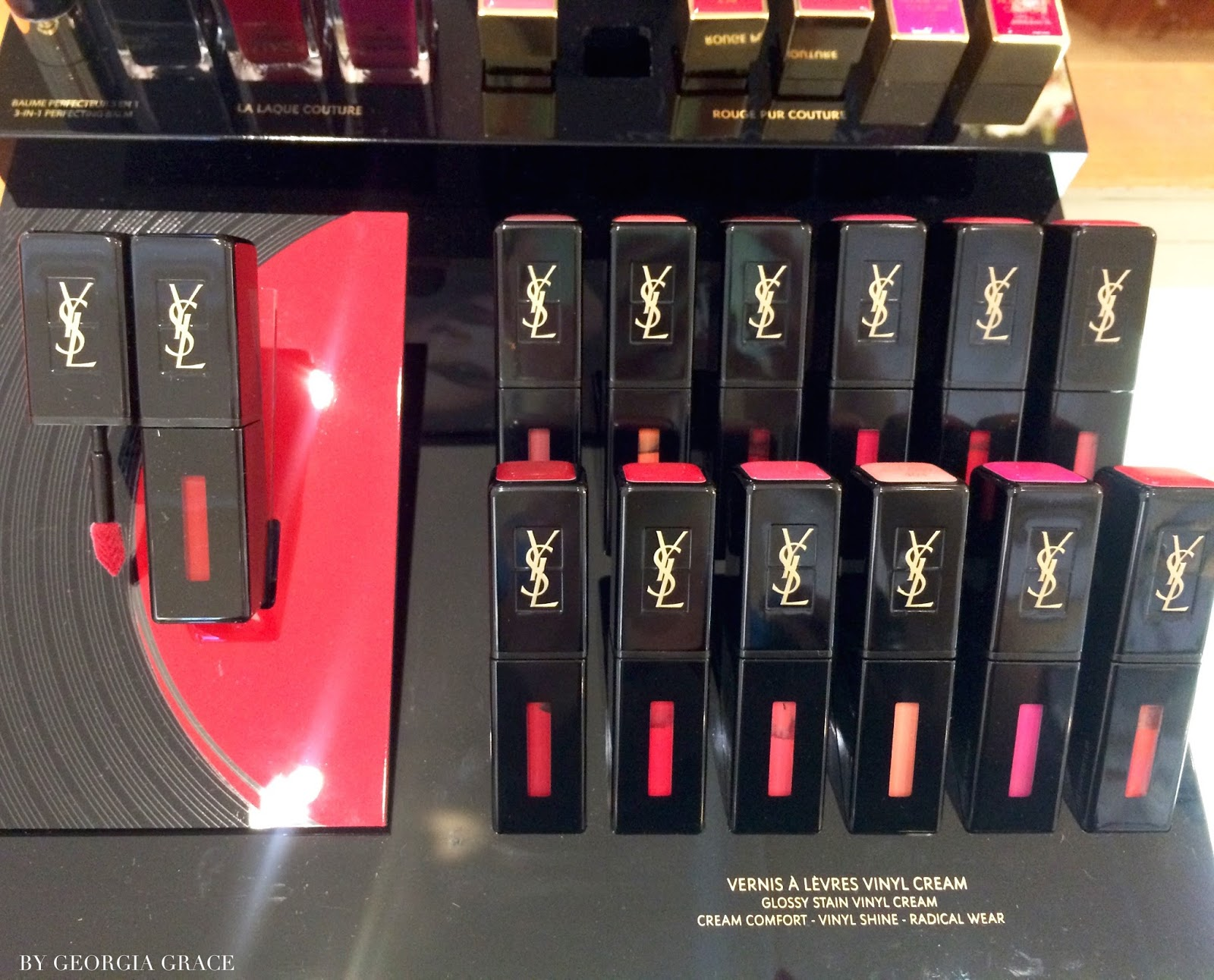 Ysl Vinyl Cream Lip Stain Fall 2016 Swatches Amp Review