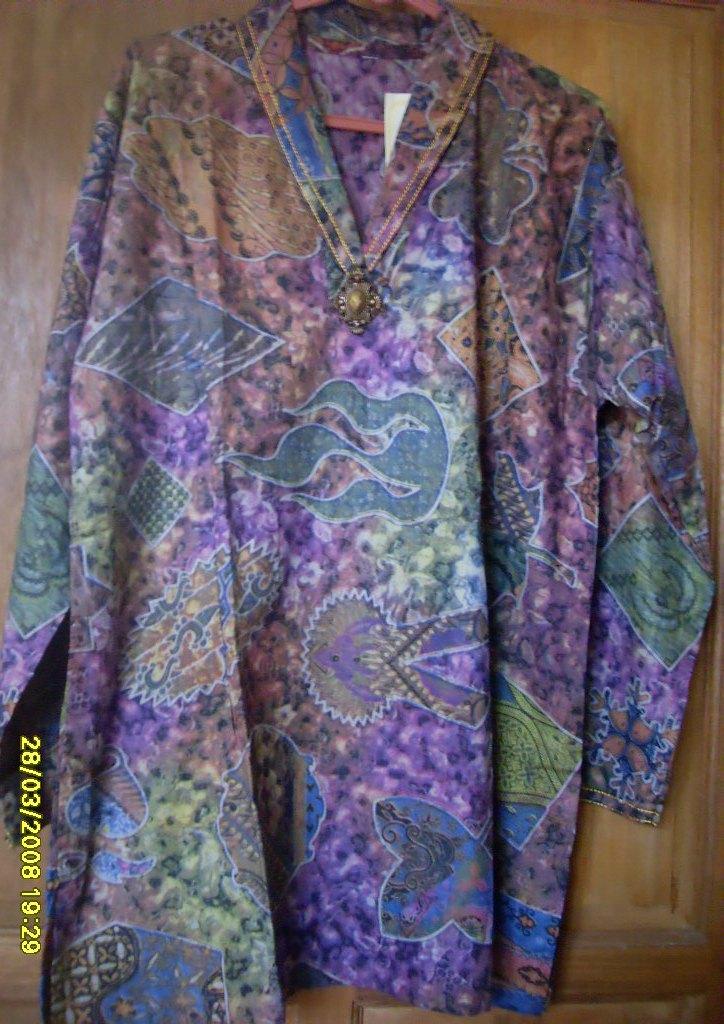 Cute Knitting Baju Batik Wanita