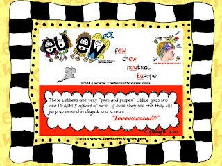 FREE Secret Stories® Phonics Mini-Poster Sampler Pack