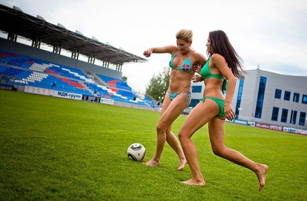 Bikini Soccer Team 26