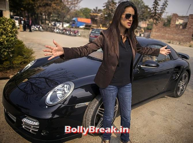 Ansa Hasan, a marketing manager at Porsche Pakistan, You will love these Pakistani Bold Women of 2014