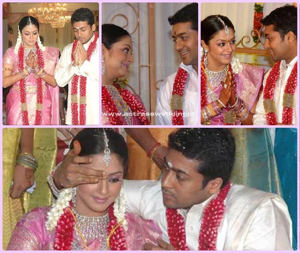 Surya Stunning Star: Wedding Anniversary Surya And Jyothika