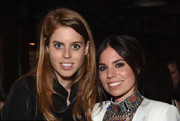 Princess Beatrice of York attends the launch of Ally Hilfiger's book, 'Bite Me' hosted by Ally and Tommy Hilfiger at The Jane Hotel