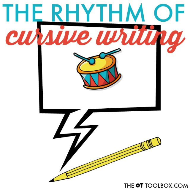Use these handwriting strategies to help kids who are learning to write in cursive work on the rhythm and flow of cursive writing including pencil control, motor plan, with smooth cursive writing strokes and legibility in written work.