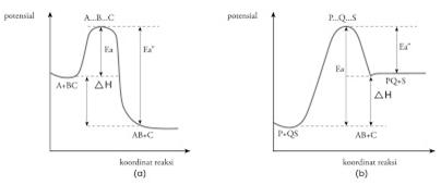 Kimia dan pendidikan laju reaksi gambar a diagram potensial reaksi eksoterm dan ccuart Gallery