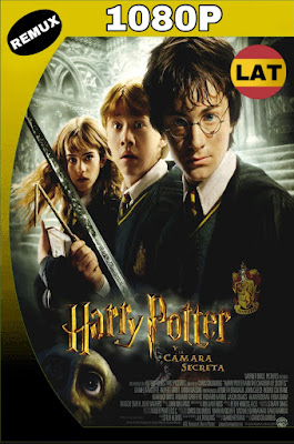 HARRY POTTER Y LA CÁMARA SECRETA (2002) BDREMUX 1080P LATINO MKV