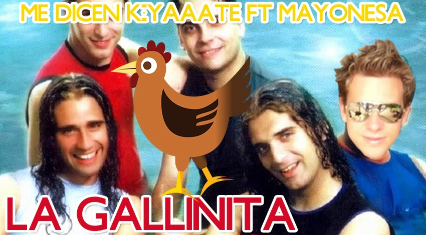 La gallinita humor mayonesa chocolate parodia