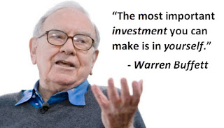 Invest in Yourself Quote - Warren Buffett
