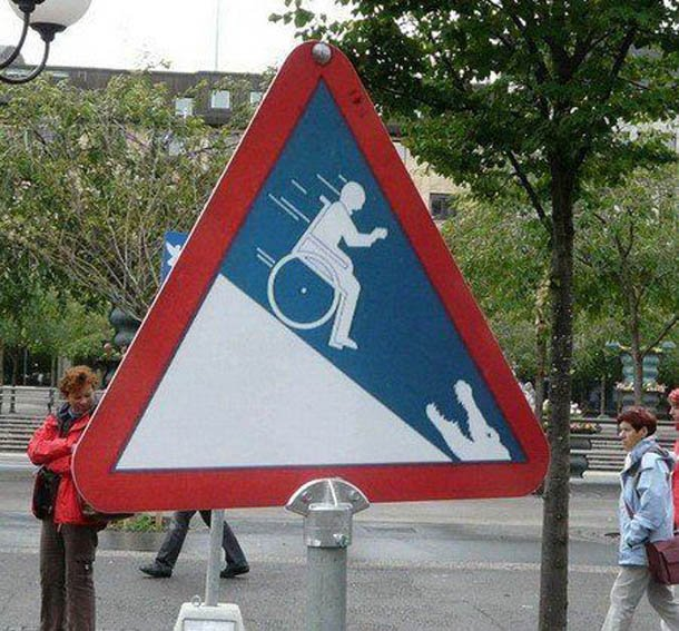 15 Bizarre Traffic Signs Funny Signs