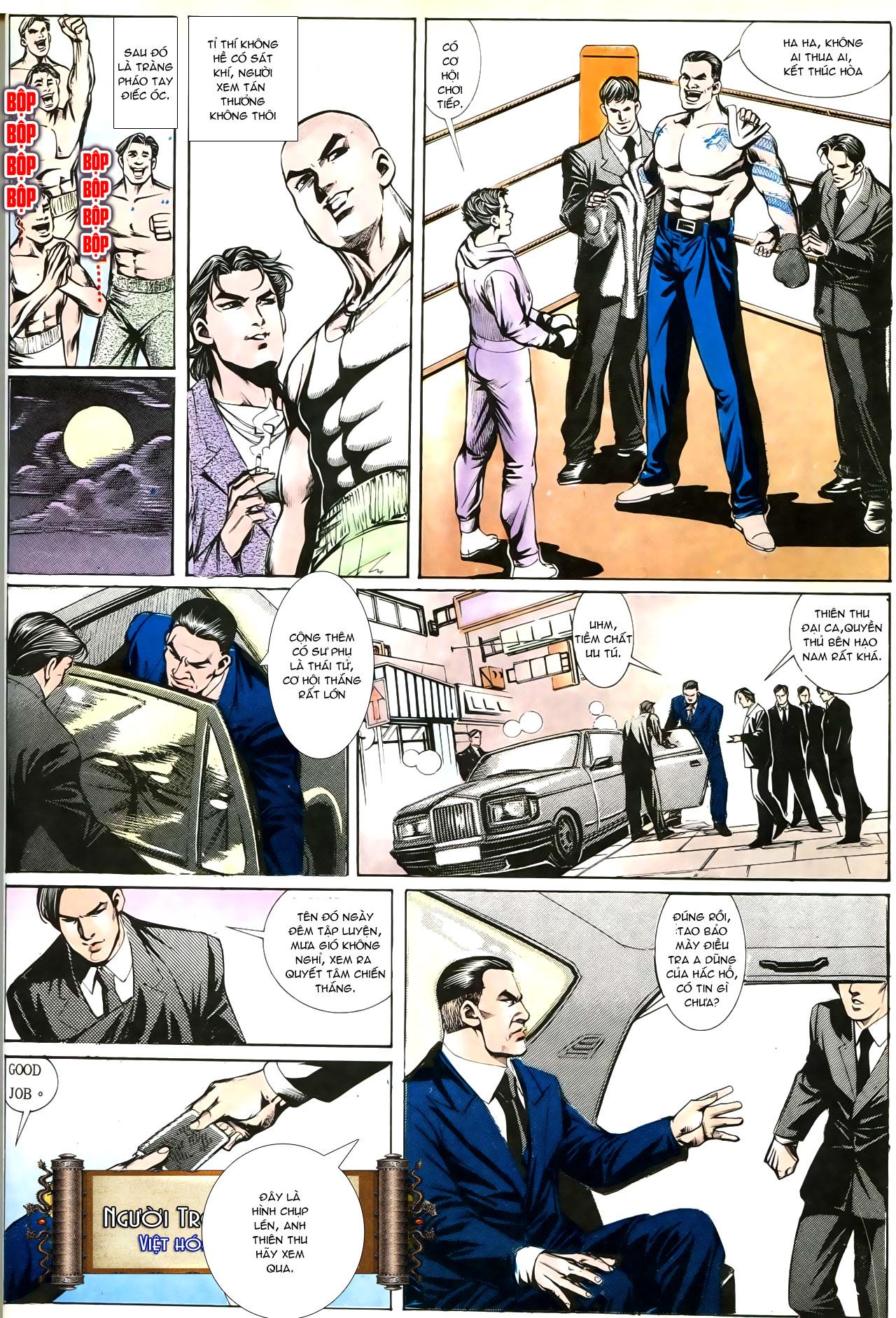 Người Trong Giang Hồ chapter 193: mưu kế đầy bụng trang 13