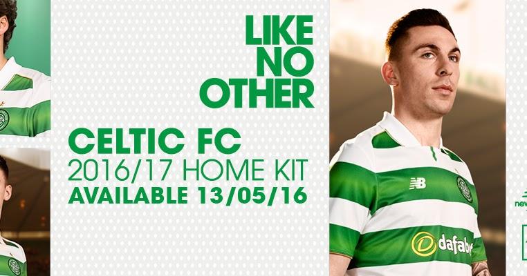 Celtic 16 17 Home Kit Released Footy Headlines
