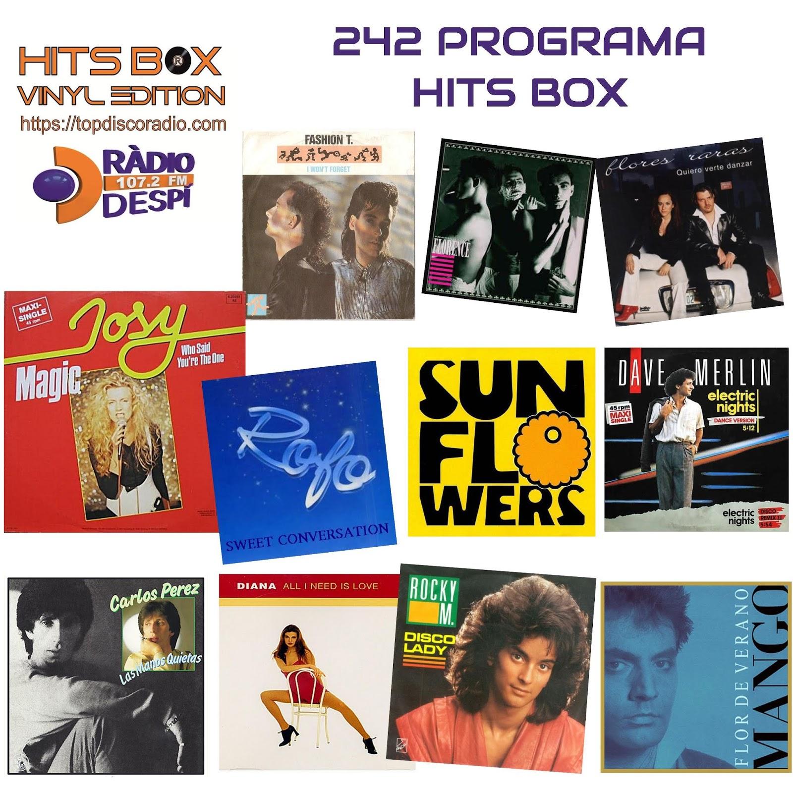 242 Programa Hits Box