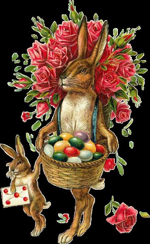 Zibi Vintage Scrap Zajączek Wielkanocny