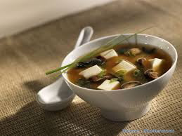 How to cook miso soup with fried tofu