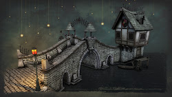 medieval wallpapers bridge hd fantasy quality wallpapersafari 3d collection environment concept