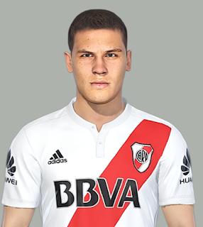 """PES 2018 Faces Juan fernando """"Quintero"""" by Facemaker SeanFede"""