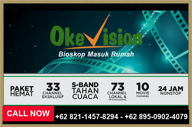 Daftar Paket Okevision, MNC Vision 2018 - 089509024079