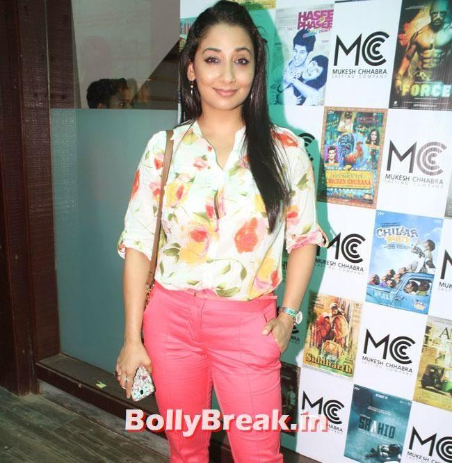 Shruti Ulfat, Shradha  & Aditi at Mukesh Chhabra Casting Studio Launch
