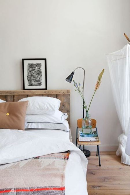 cosy and neutral bedroom