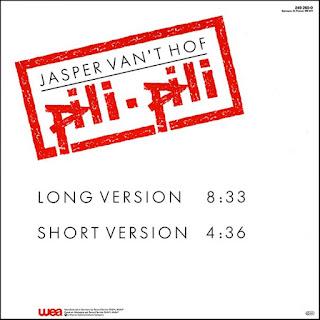 Jasper Van't Hof - 1984 - Pili-Pili (Maxi Single)