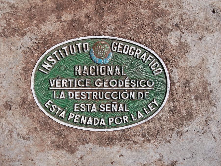 Vértice Geodésico de La Safor
