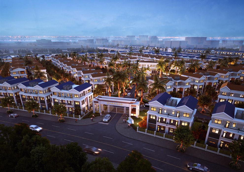 Khu đô thị mới Tây Hồ Tây - Điểm hút mới của thị trường BĐS