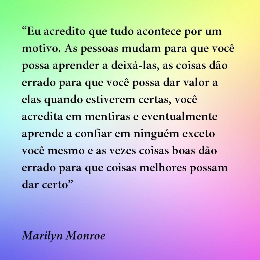 Belas Frases De Amor Eu Acredito Que Tudo Acontece Por Um Motivo