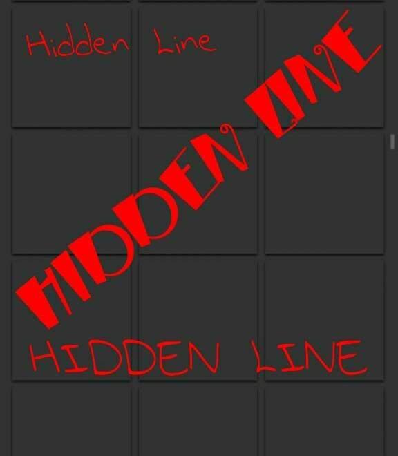 HIDDEN LINE - 1 (2016march)