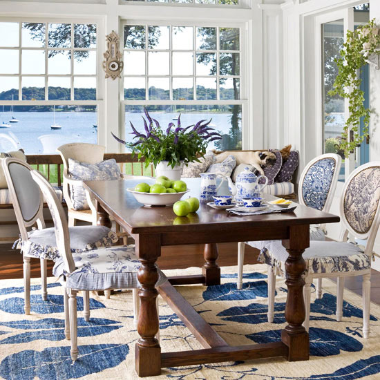 Sunroom Dining Room: Sunroom, Screened And Covered Porch Decorating And Design