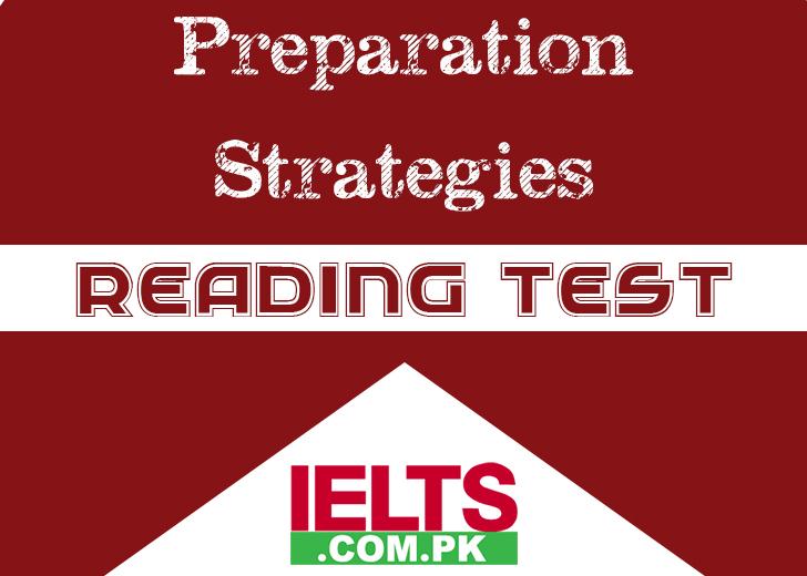 IELTS Reading Test Preparation Strategies