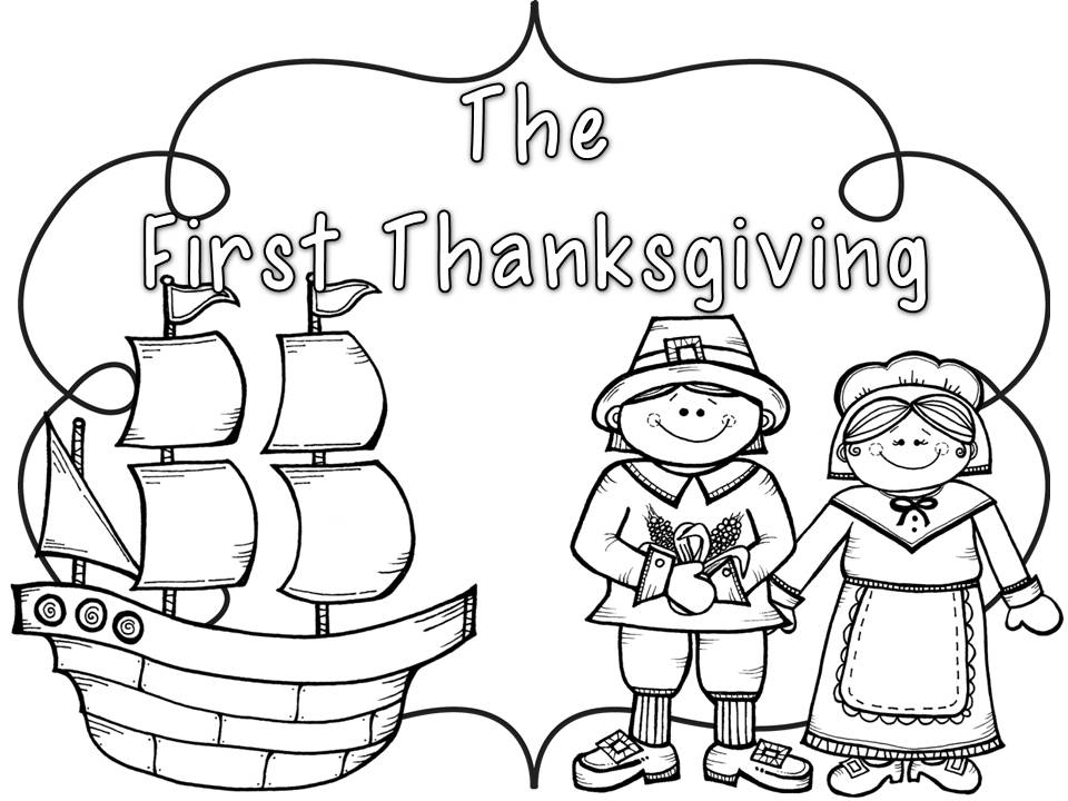 thanksgiving coloring pages for kindergarten - photo#27