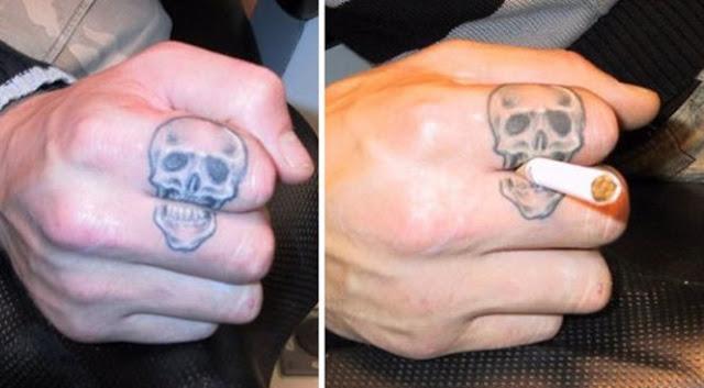 Tatuagens inteligentes que você vai querer fazer