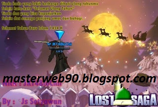 New Cheat LS Lost Saga 31 Desember 2012