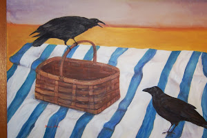 The Crow Picnic painting