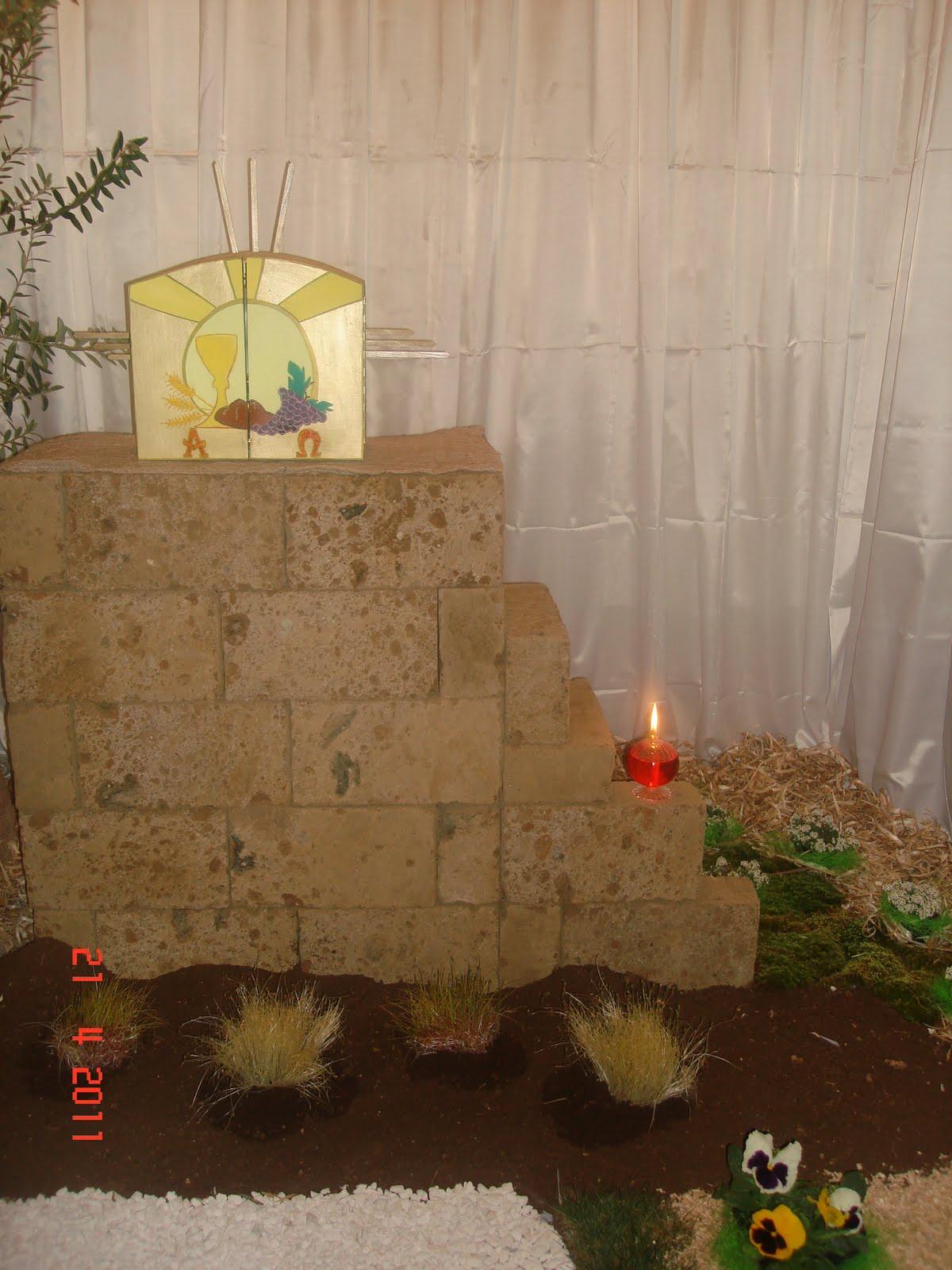 Arte Floreale per la Liturgia Rubrica Altare della
