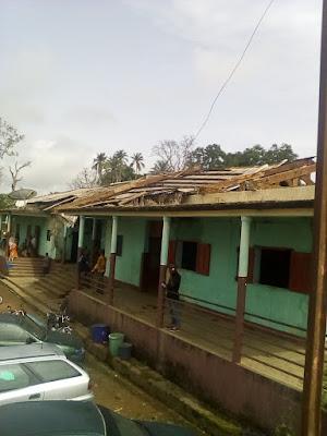 Société: La Gendarmerie Départementale de Kindia décoiffée par une tornade2