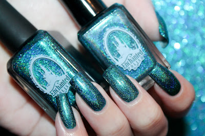Comparative of two batches of Scintealliant from Enchanted Polish
