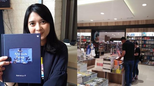 Novel Terbaru Marchella FP - Nanti Kita Cerita Tentang Hari Ini, Laris Di Palembang