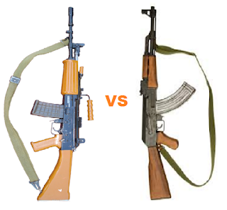 INSAS 5.56mm Vs AK-47