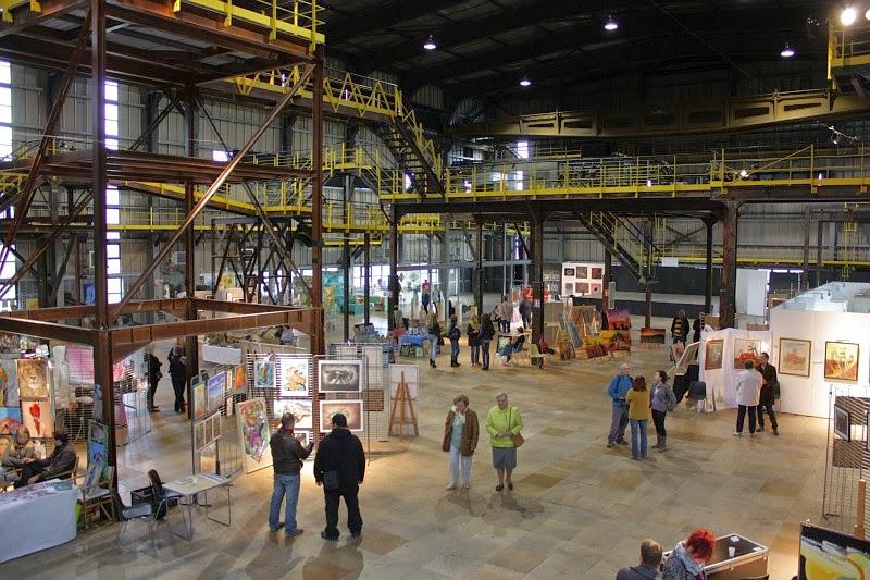 Kunstmesse in Musée les Mineurs Wendel