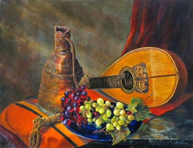 Талантливый американский художник. Nathan Clements