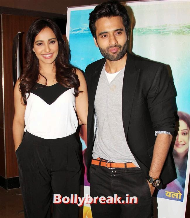 Neha Sharma and Jackie Bhagnani, Genelia, Sonal, Karishma at Yellow Film Special Screening