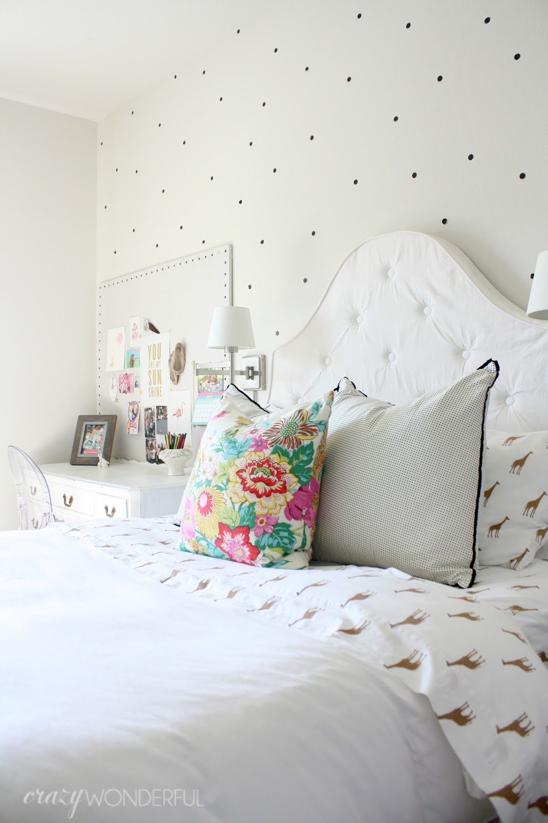 Izzy 39 s bedroom crazy wonderful - The year of the wonderful bedroom ...