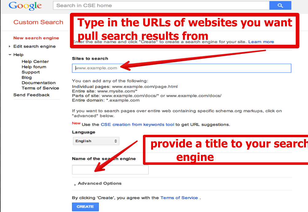 A Simple Visual Guide to Create Google Custom Search Engine