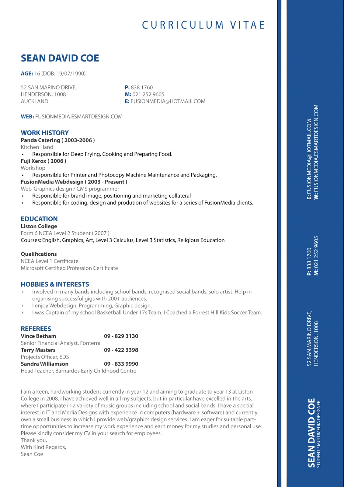 Resume Format Resume Format Latest